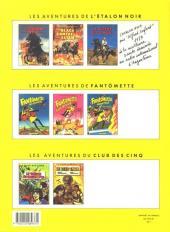 Verso de Fantômette (Les aventures de) -3- Fantômette risque tout