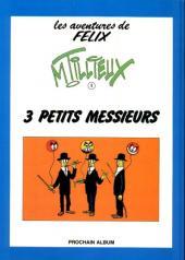 Verso de Félix (Tillieux, Éditions Michel Deligne puis Dupuis, en couleurs) -2- Trafic de coco