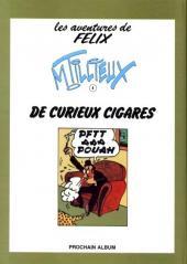Verso de Félix (Tillieux, Éditions Michel Deligne puis Dupuis, en couleurs) -3- 3 petits messieurs
