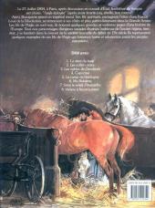 Verso de Les fils de l'aigle -8- Vienne à feu et à cœur