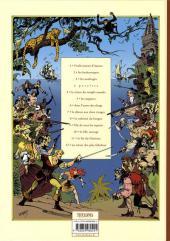 Verso de Les fils de l'aventure -3- Les naufragés
