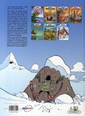 Verso de Les fondus -71- Les fondus de la glisse