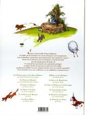 Verso de La Fontaine aux fables -1- Volume 1