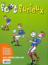Verso de Les foot furieux -5- Tome 5
