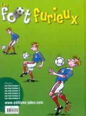 Verso de Les foot furieux -6- Tome 6