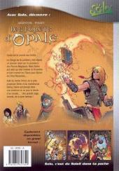 Verso de Les forêts d'Opale -1Solo- Le Bracelet de Cohars