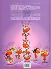 Verso de Les fourmidables -1- Des fourmis dans les jambes