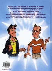 Verso de Fred & Jamy (Les aventures de) -1- La croix des Templiers