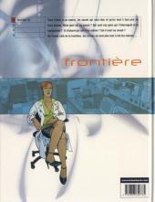 Verso de Frontière -1- Souviens-toi