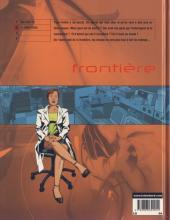 Verso de Frontière -2- Le temps perdu