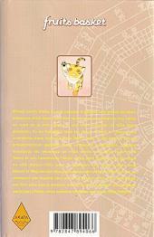Verso de Fruits basket -10- Volume 10