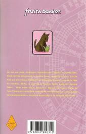 Verso de Fruits basket -4- Volume 4