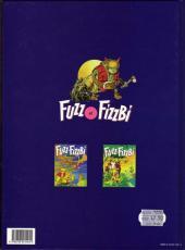 Verso de Fuzz et Fizzbi -3- Les caverneux