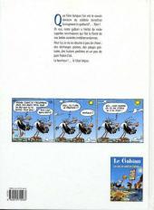 Verso de Le gabian - Josua Livingroom -2- On ne prête qu'aux bourriches