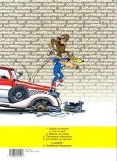 Verso de Garage Isidore -5- Le mambo du mécano