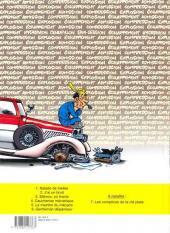 Verso de Garage Isidore -6- Gentleman dépanneur
