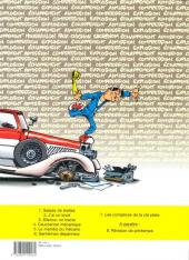 Verso de Garage Isidore -7- Les complices de la clé plate