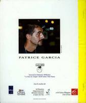 Verso de Voyage fantastique avec... Patrice Garcia