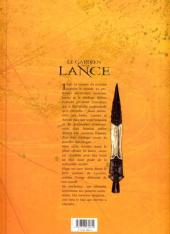 Verso de Le gardien de la Lance -2- Initiation