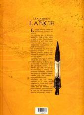 Verso de Le gardien de la Lance -3- Le don de Salâh al -Dîn