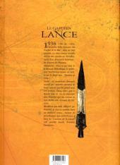 Verso de Le gardien de la Lance -4- Les disques de Phaïstos