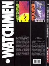 Verso de Watchmen (Les Gardiens) -1- Le comédien