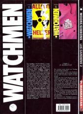 Verso de Watchmen (Les Gardiens) -2- Dr Manhattan