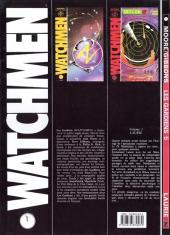Verso de Watchmen (Les Gardiens) -5- Laurie