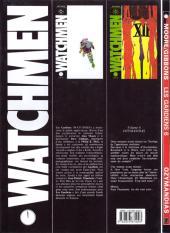 Verso de Watchmen (Les Gardiens) -6- Ozymandias