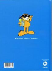 Verso de Garfield -Total1- Lasagnes, repos, dodo !