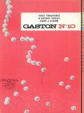 Verso de Gaston -9- Le cas Lagaffe