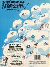 Verso de Gaston (Hors-série) -14Pub- La saga des gaffes - visimage by cogelog
