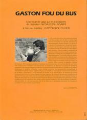 Verso de Gaston (Hors-série) -FB15- Fou du bus - SEMVAT