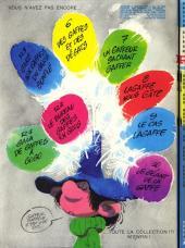 Verso de Gaston -R3- Gare aux gaffes du gars gonflé