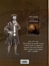 Verso de Général Leonardo -2- Croisade vers la Terre Sainte