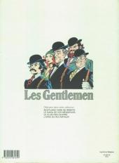 Verso de Les gentlemen -4- L'épée du roi Arthur