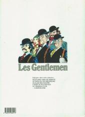 Verso de Les gentlemen -6- Les gentlemen à Barcelone