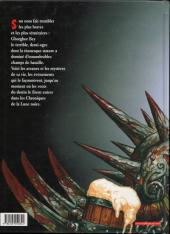 Verso de Les arcanes de la Lune Noire -1- Ghorghor Bey