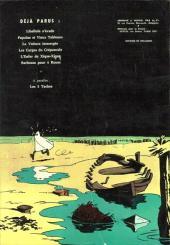 Verso de Gil Jourdan -7- Les moines rouges