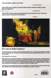 Verso de Global Frequency -1- Planète en flammes