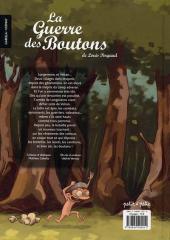 Verso de La guerre des Boutons (Vernay/Khaz) -1- Le trésor