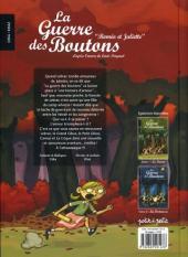 Verso de La guerre des Boutons (Vernay/Khaz) -3- Roméo et Juliette