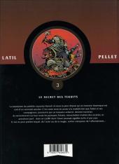 Verso de Les guerriers -3- Le secret des Tekuits