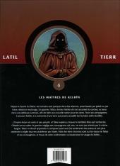 Verso de Les guerriers -6- Les Maîtres de Kelhîn