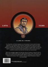Verso de Les guerriers -7- Le joug de l'infamie