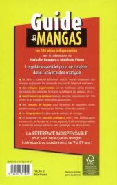 Verso de (DOC) Conseils de lecture -a- Guide des mangas - Les 100 séries indispensables