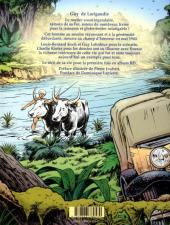 Verso de Avec Guy de Larigaudie - Sur les chemins de l'aventure