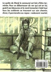 Verso de L'habitant de l'infini -3- Volume 3