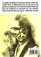 Verso de L'habitant de l'infini -4- Volume 4