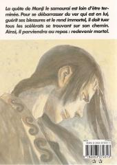 Verso de L'habitant de l'infini -5- Volume 5